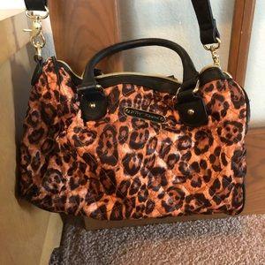 Leopard print Betsey Johnson handbag